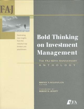 Bold Thinking on Investment Management