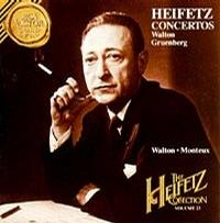 Heifetz Conccertos - Walton Gruenberg [The Heifetz Collection Vol.23]