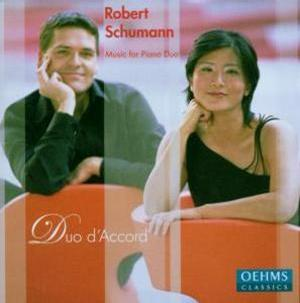 Schumann: Music for Piano Duo - Duo d'Accord