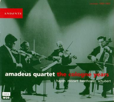 Amadeus Quartet - The Cologne Years