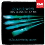 Shostakovich: String Quartets #3, 7 & 8 - St. Lawrence String Quartet