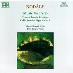Kodaly Music for cello