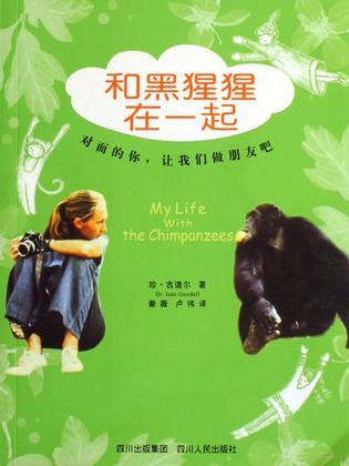 和黑猩猩在一起