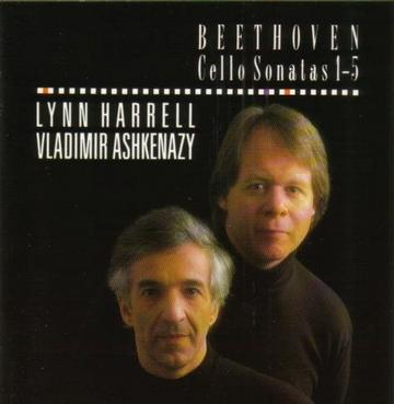 5 Sonatas Cello-Harrell-Ashkenazy