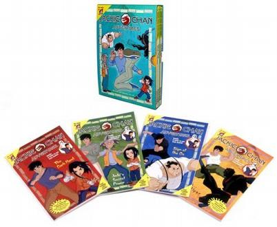Jackie Chan Adventures Boxed Set (Books 1-4)