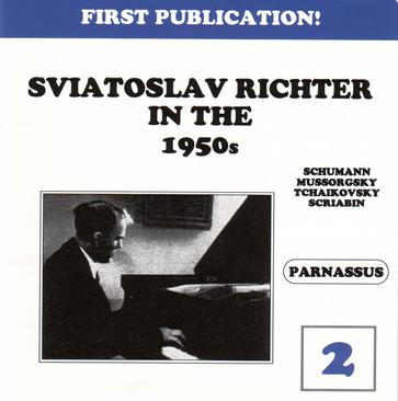 Sviatoslav Richter in 1950s - Vol. 2