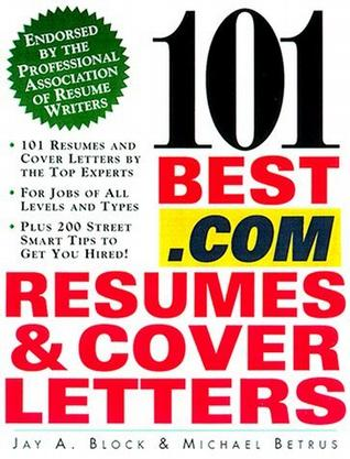 101 Best .Com Resumes & Cover Letters
