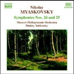 Myaskovsky Symphonies Nos.24 and 25