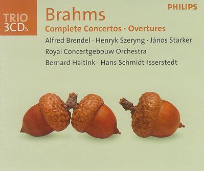 Brahms: Complete Concertos, Overtures /Brendel, Starker, Szeryng, Haitink