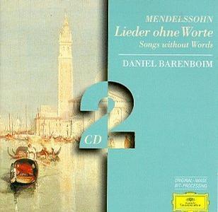 Felix Mendelssohn... - Mendelssohn- Songs Without Words- Daniel Barenboim