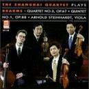 The Shanghai Quartet plays Brahms