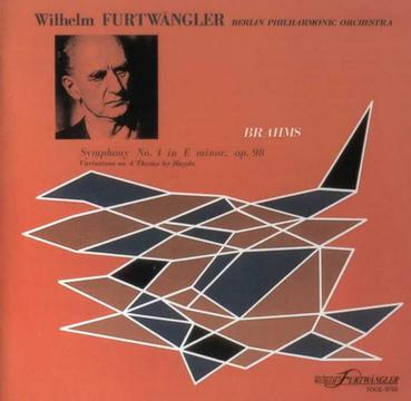 Furtwangler: Brahms Symphony No.4/Variations On A Theme by Haydn