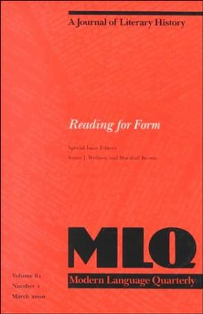 Reading for Form (Mlq
