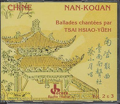 Tsai Hsiao-Yueh... - China - Nan-Kouan Vol.2 & 3