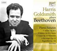 Harris Goldsmith Plays Beethoven