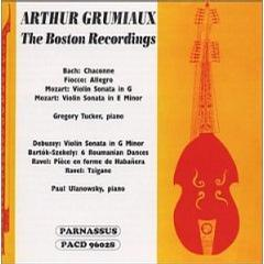 Arthur Grumiaux: The Boston Recordings
