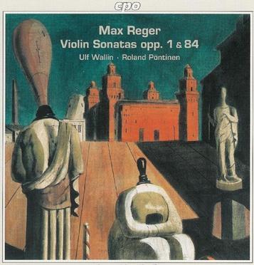 Max REGER : Werk fuer Violine & Klavier, Das Vol 1