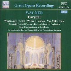 WAGNER, R.: Parsifal (Bayreuth / Knappertsbusch) (1951)