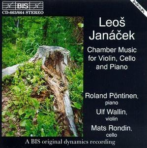 Leos Janácek: Chamber music for violin, cello & piano
