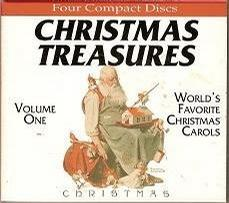 Christmas Treasures World's Favorite Christmas Carols Volume 1