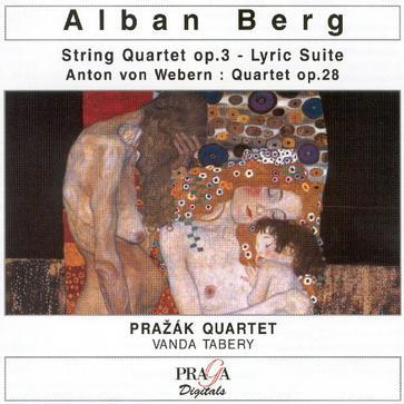 Berg / Webern - String Quartets, Prazak Quartet
