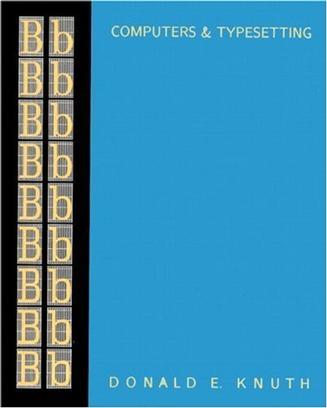 Computers & Typesetting, Volume B