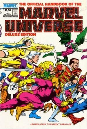Essential Official Handbook of the Marvel Universe - Deluxe Edition, Vol. 1 (Marvel Essentials)