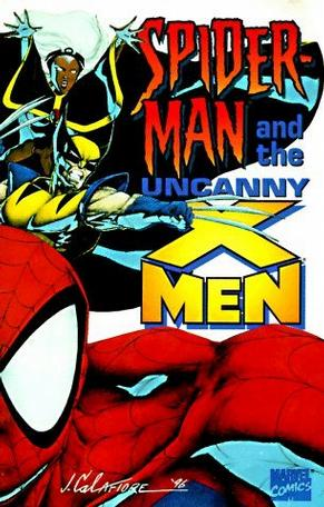 Spiderman and the Uncanny X-Men