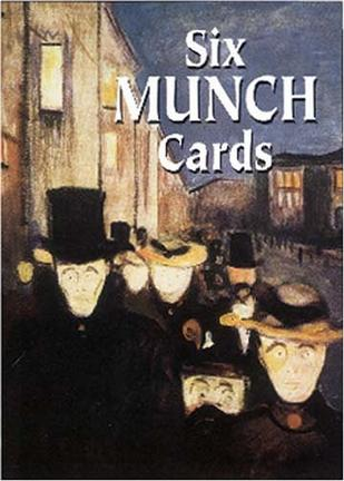 Six Munch Cards (Small-Format Card Books)