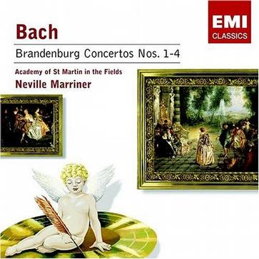 Bach: Brandenburg Concertos No. 1-4; Neville Marriner; Academy of St. Martin in the Fields