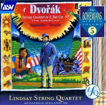 "Dvorak: String Quintet Op 97 ""The American""; Bagatelles; Terzetto"
