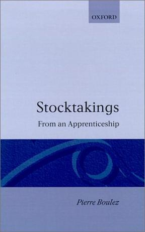 Stocktakings from an Apprenticeship