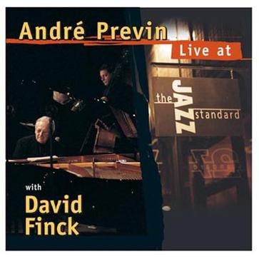 Andre Previn Live at the Jazz Standard With David Finck