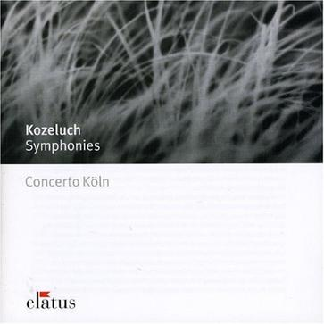 Kozeluch: Symphonies In C, D, A, & B Flat Major