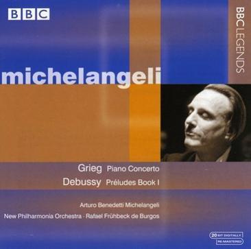 Grieg: Piano Concerto; Debussy: Préludes