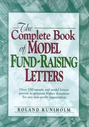 The Complete Book of Model Fundraising Letters