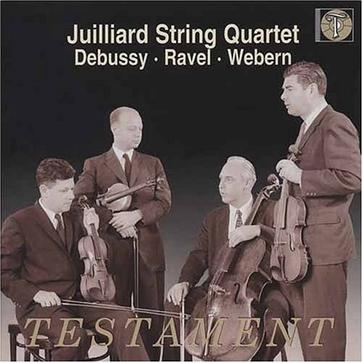Juilliard String Quartet performs Debussy, Ravel & Webern