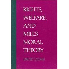 Rights, Welfare and Mill's Moral Theory
