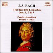 Brandenburg Concertos No1,2&3