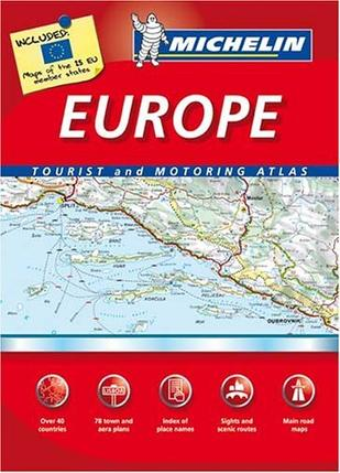 Michelin Europe Tourist and Motoring Atlas (Michelin Tourist and Motoring Atlas)
