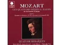 Mozart: Les quatuors dedié à Haydn vol.1