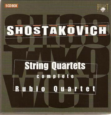 Shostakovich: String Quartets Complete (Box Set)