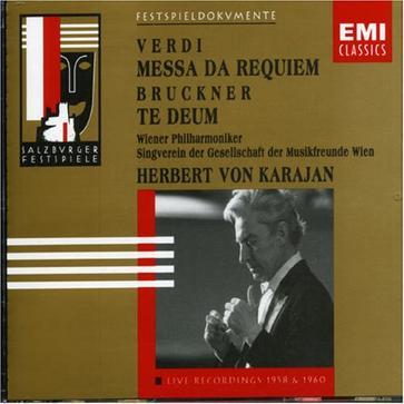 Verdi: Messa da Requiem / Bruckner: Te Deum (1958/1960)