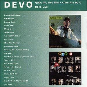 Q: Are We Not Men? A: We Are Devo/DEV-O Live