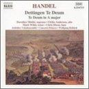 Handel - Te Deum in D major HWV 283 · Te Deum in A major HWV 282 / U. Andersen · Dixon · Mields · M. Wilde · Helbich