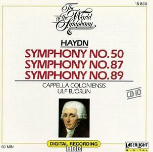 The World of the Symphony - Haydn: Symphony No. 50, 87, 89