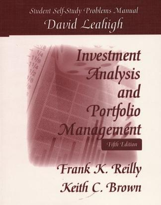 investment and portfolio management book pdf