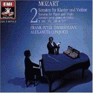 Mozart: Sonatas for Piano and Violin, Vol. 2: K 306, 302, 296 & 377