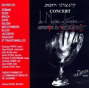 Concert de Musique Liturgique Juive (Concert of Jewish Liturgical Music)