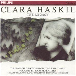 Clara Haskil: the Legacy Vol. 3 - Solo Repertoire